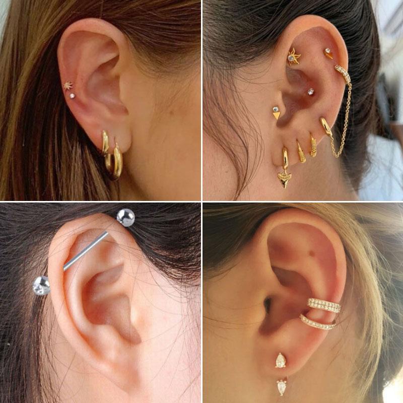 Ethical and Sweet Ear Piercing Ideas - Custom Tattoo Art