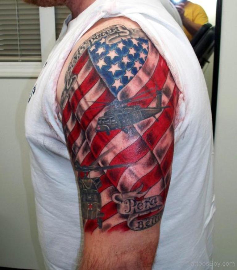 american flag tattoos