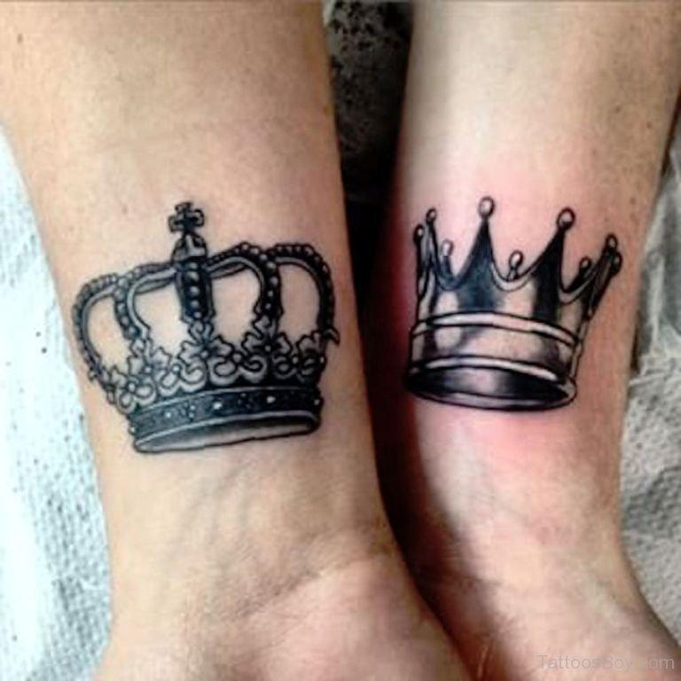 king-queen-tattoos